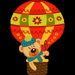 Medvedík a balón