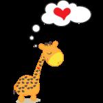 Zamilovaná žirafa