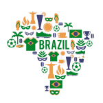 Mapa Brazília