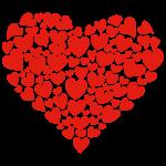 Zaľúbené srdcia