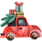 Auto s dárky