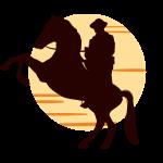 Kovboj na koni