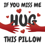 Hug this pillow
