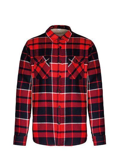 Zateplená pánska košeľa