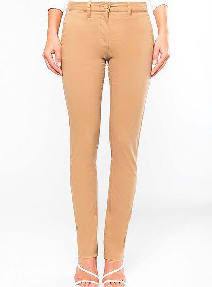 Dámské pohodlné kalhoty Chino