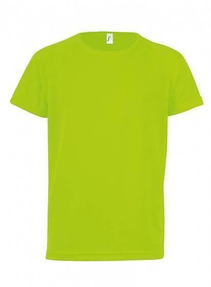 Neonové sportovní tričko