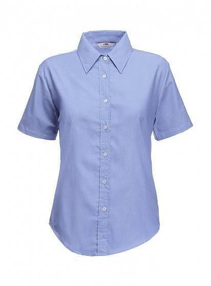 Dámska košeľa Oxford s krátkym rukávom